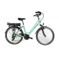 Bicicleta eléctrica DEVRON CITY AZUL