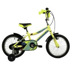 """Bicicleta infantil VENTURE 16"""" amarilla"""