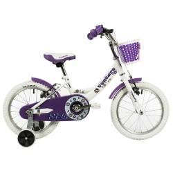 "Bicicleta infantil VENTURE 16"" blanca"