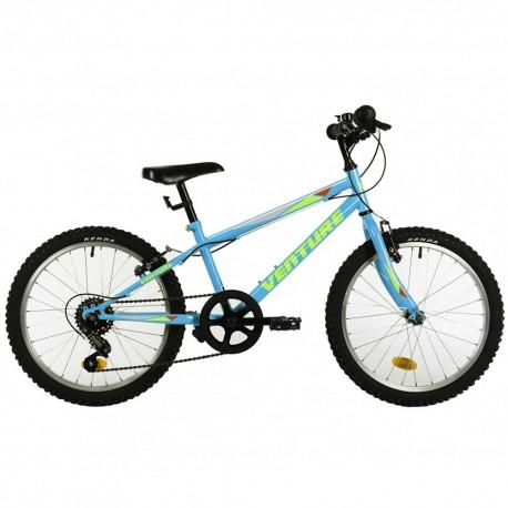 "Bicicleta infantil VENTURE 20"" azul"