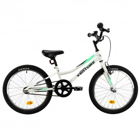 "Bicicleta infantil VENTURE 20"" blanca"