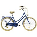 """Bicicleta de paseo DHS 26"""" azul"""
