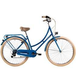 """Bicicleta de paseo DHS 28"""" azul"""
