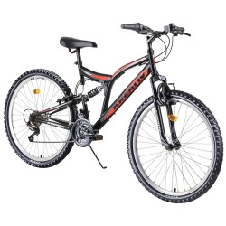 "Bicicleta infantil doble suspensión 26"""