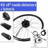 "Pack Kit eléctrico 26"" rueda trasera tipo rosca + batería"