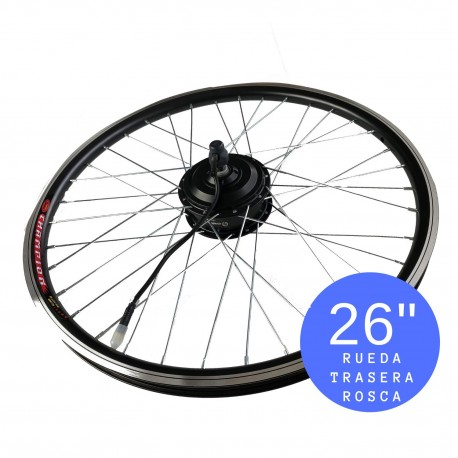 "Motor E-Bike 26"" Rueda trasera rosca 36V/250W IP54"
