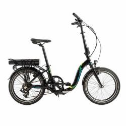 Bicicleta eléctrica plegable cuadro bajo DEVRON