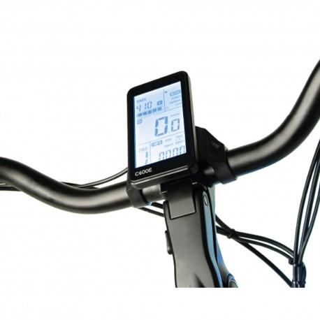 "Bicicleta eléctrica de paseo 28"" motor central LEONE HUNTER"