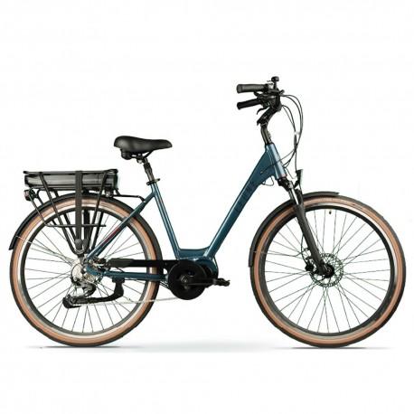 """Bicicleta eléctrica de paseo 28"""" motor central LEONE SUMMER"""