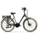 """Bicicleta eléctrica SUMMER LEONE de paseo 28"""" motor central"""