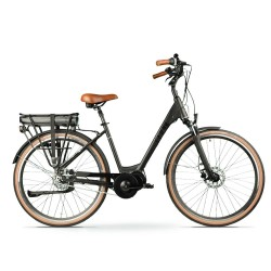 "Bicicleta eléctrica ARROW LEONE de paseo 28"" motor central"