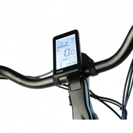 "Bicicleta eléctrica de paseo 28"" motor central RHINO LEONE"