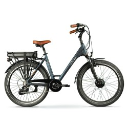 "Bicicleta eléctrica SAFARI LEONE de paseo 28"" motor delantero"