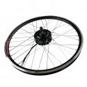 """Kit motor para bicicleta eléctrica 20"""" rueda delantera"""