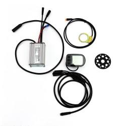 KIT Controlador 17A + LCD05 + Sensor PAS eje cuadradillo + cable