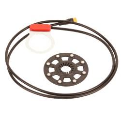 Sensor PAS con disco de 8 imanes para caja pedalier 100 cm