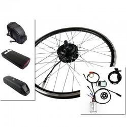 "Pack Kit eléctrico 20"" rueda trasera tipo rosca + batería"