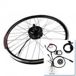 "Kit motor para bicicleta eléctrica 26"" rueda trasera tipo cassette"