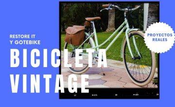 Bicicleta eléctrica de paseo con kit eléctrico GOTEBIKE