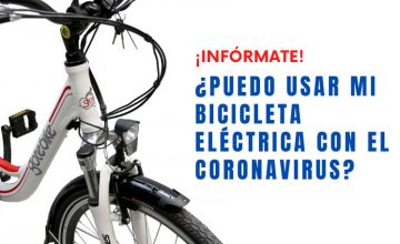 ¿Puedo usar mi bicicleta eléctrica con el Coronavirus?