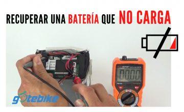 ¿Cómo recuperar una batería de bicicleta eléctrica que no carga? I GOTEBIKE