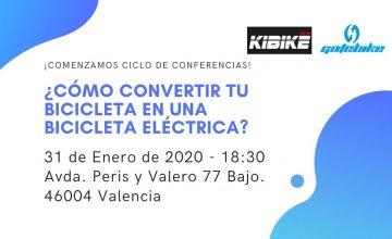 Si estás en Valencia ¡Ven y te ayudamos a convertir tu bicicleta en una bicicleta eléctrica!
