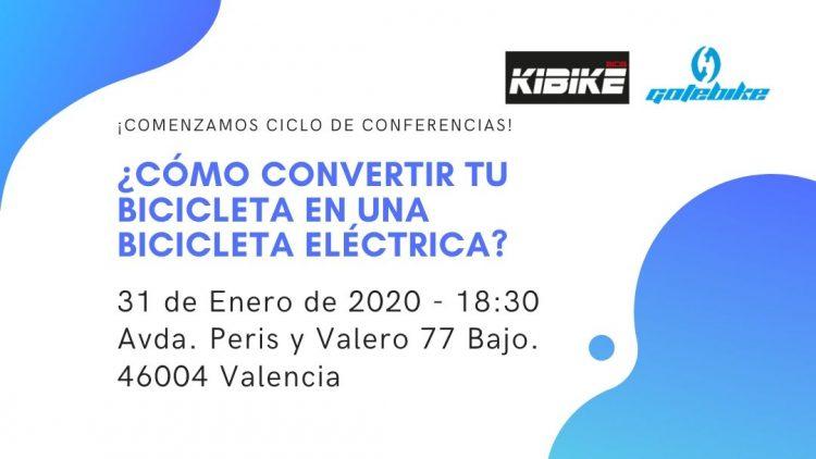 gotebike - ciclo de conferencias - bicicleta - eletrica - kibike
