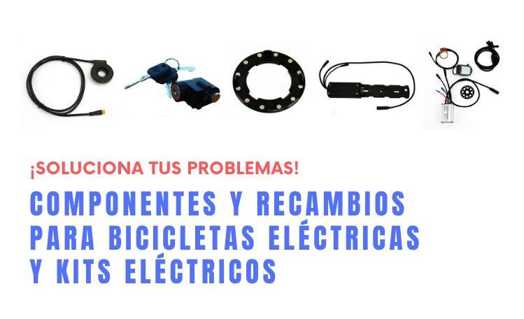 componentes y recambios para bicicletas eléctricas - kits eléctricos - gotebike
