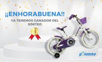 Ganador del sorteo Gotebike: Bicicleta infantil VENTURE 16″